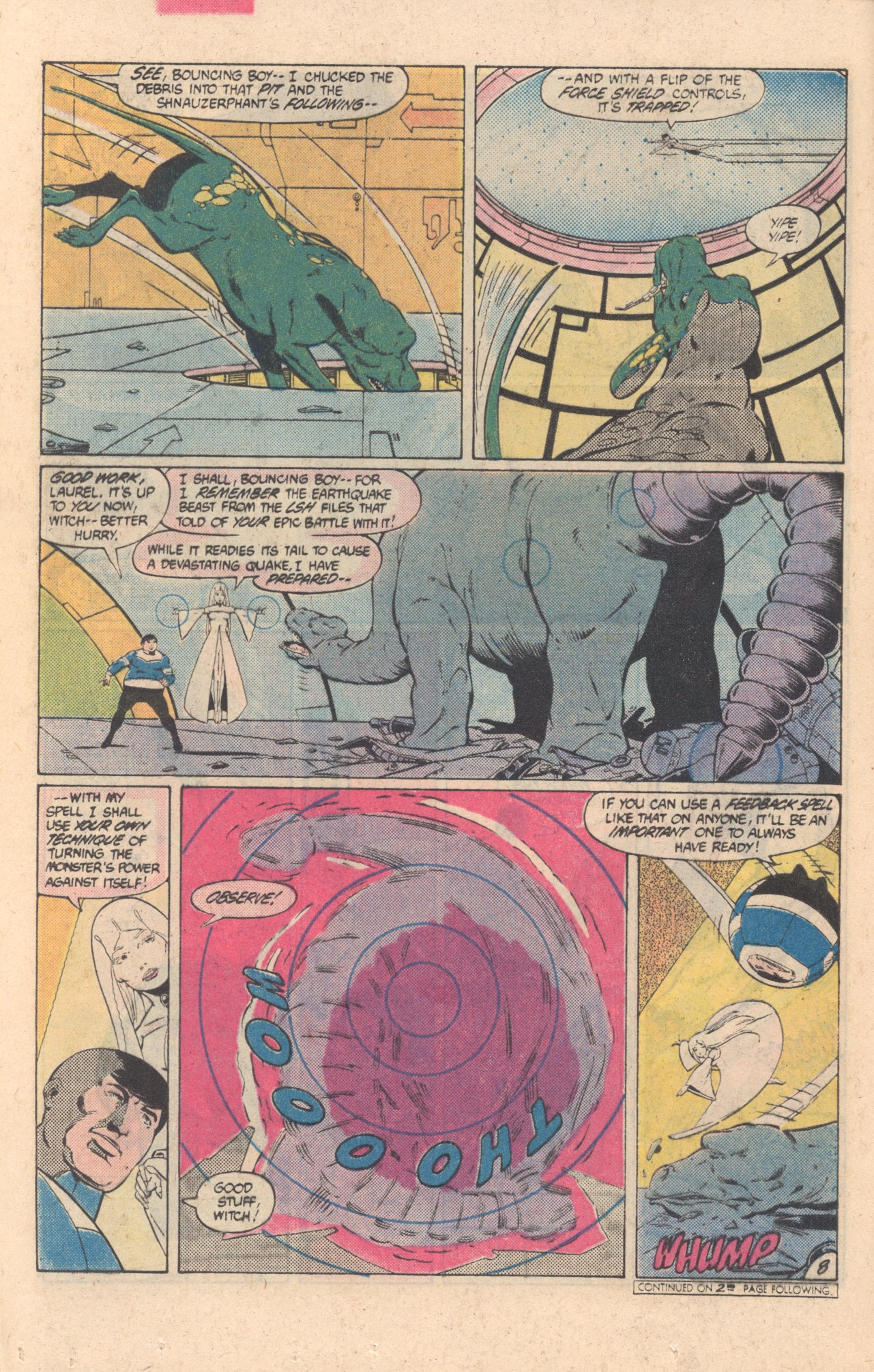 Legion of Super-Heroes (1980) 304 Page 8