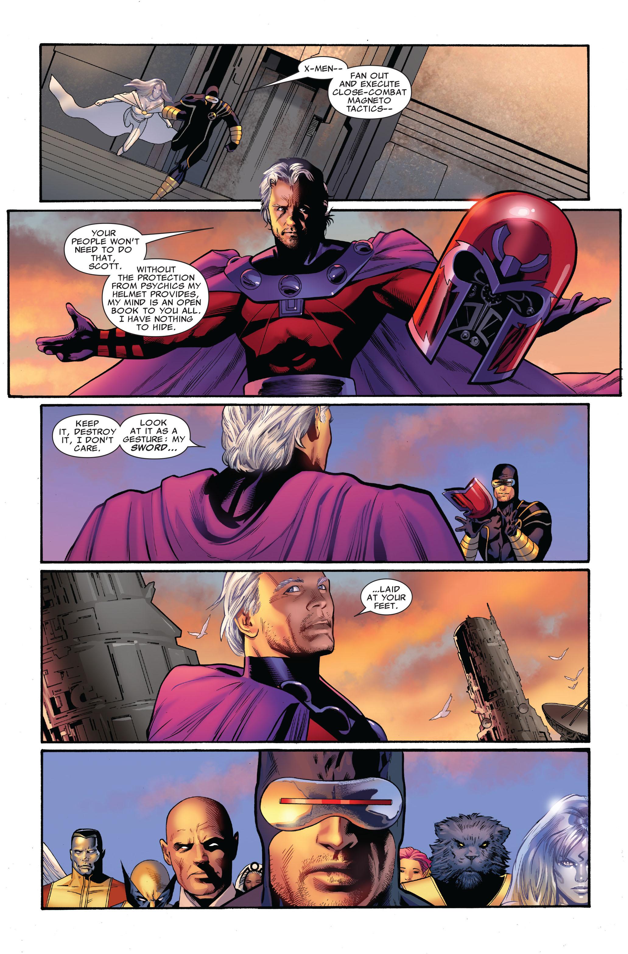Read online Uncanny X-Men (1963) comic -  Issue #516 - 7