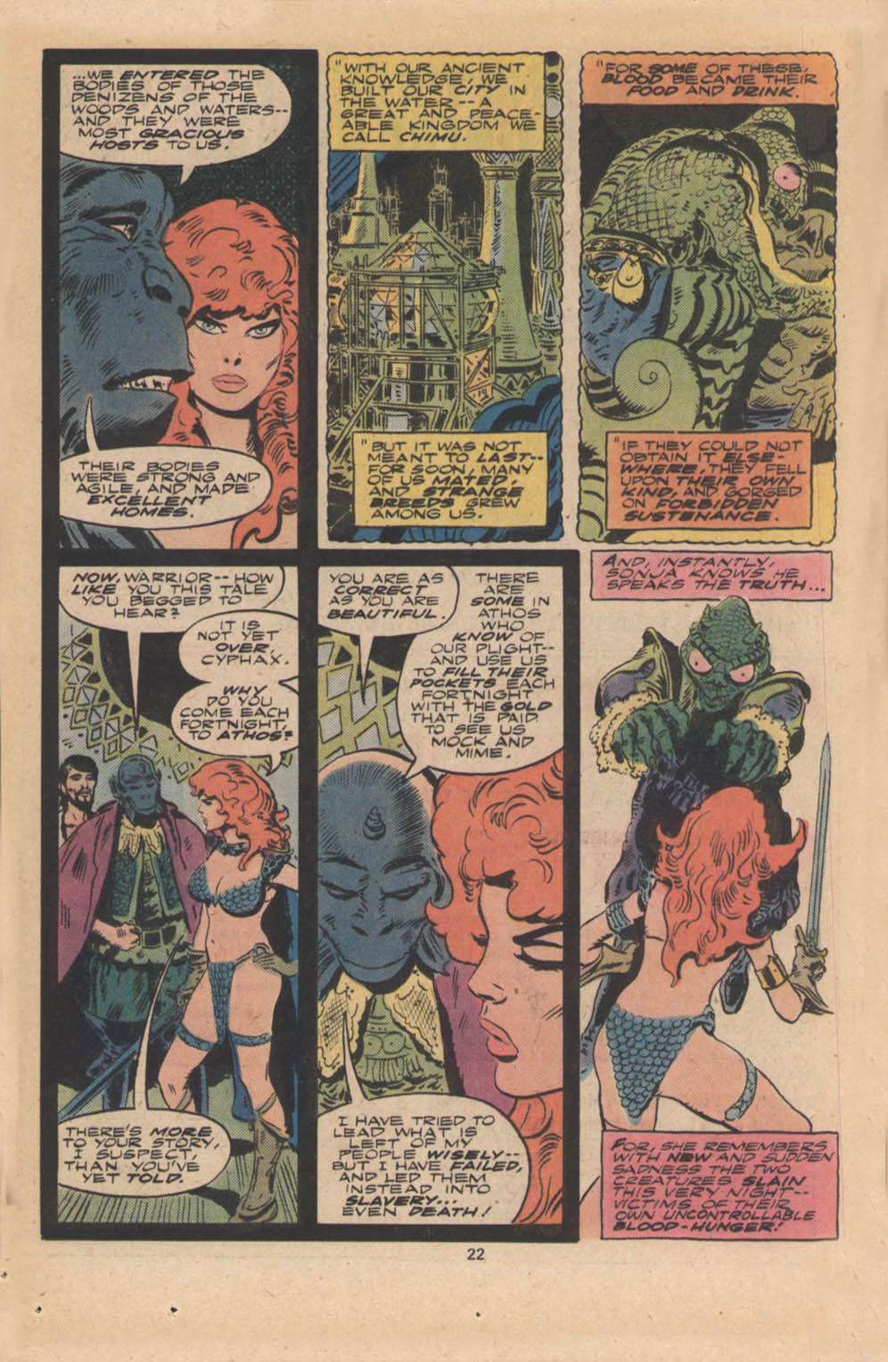 Red Sonja (1977) issue 4 - Page 13