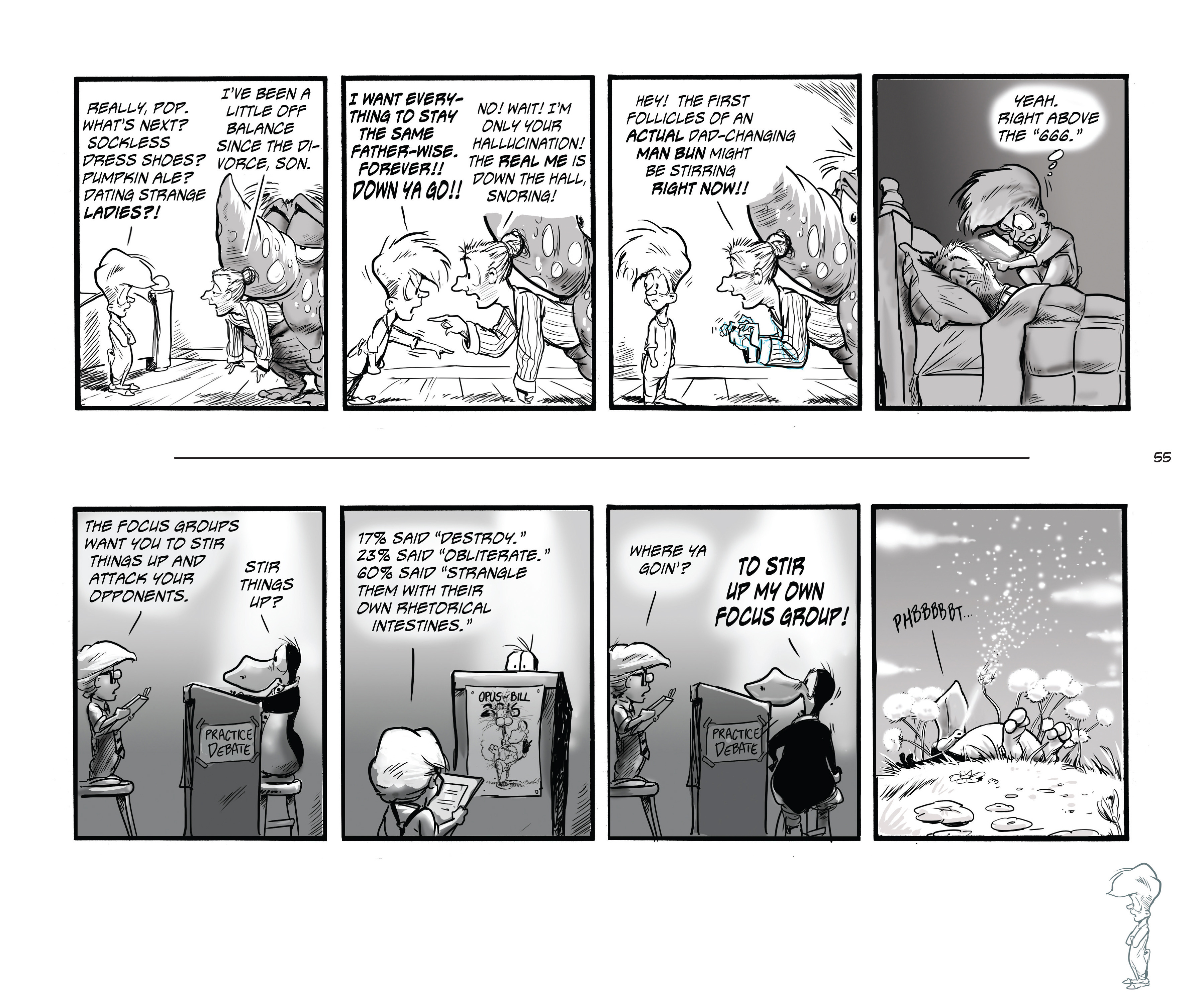 Read online Bloom County Episode XI: A New Hope comic -  Issue # Full - 57