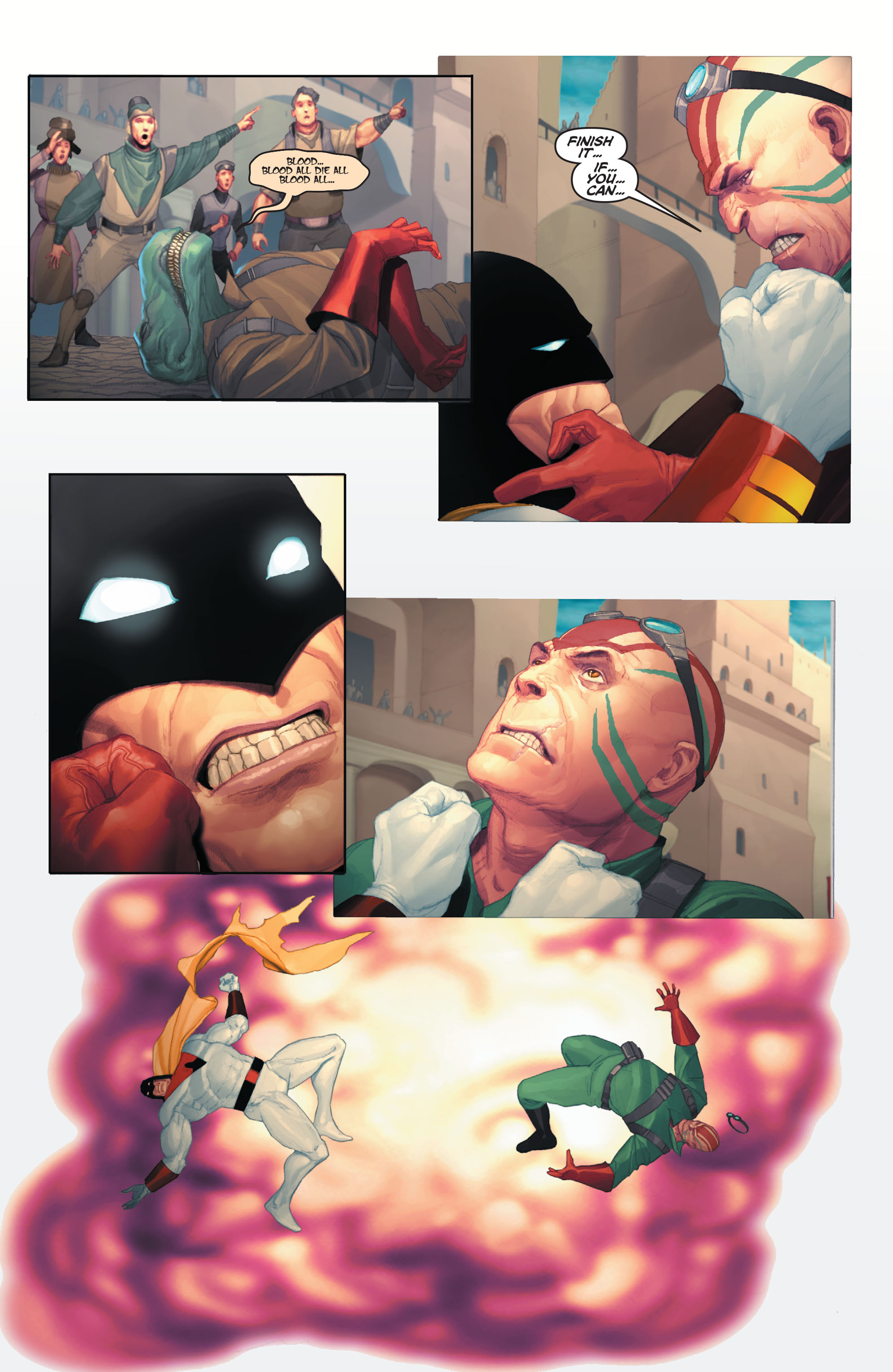 Read online Space Ghost (2016) comic -  Issue # Full - 67