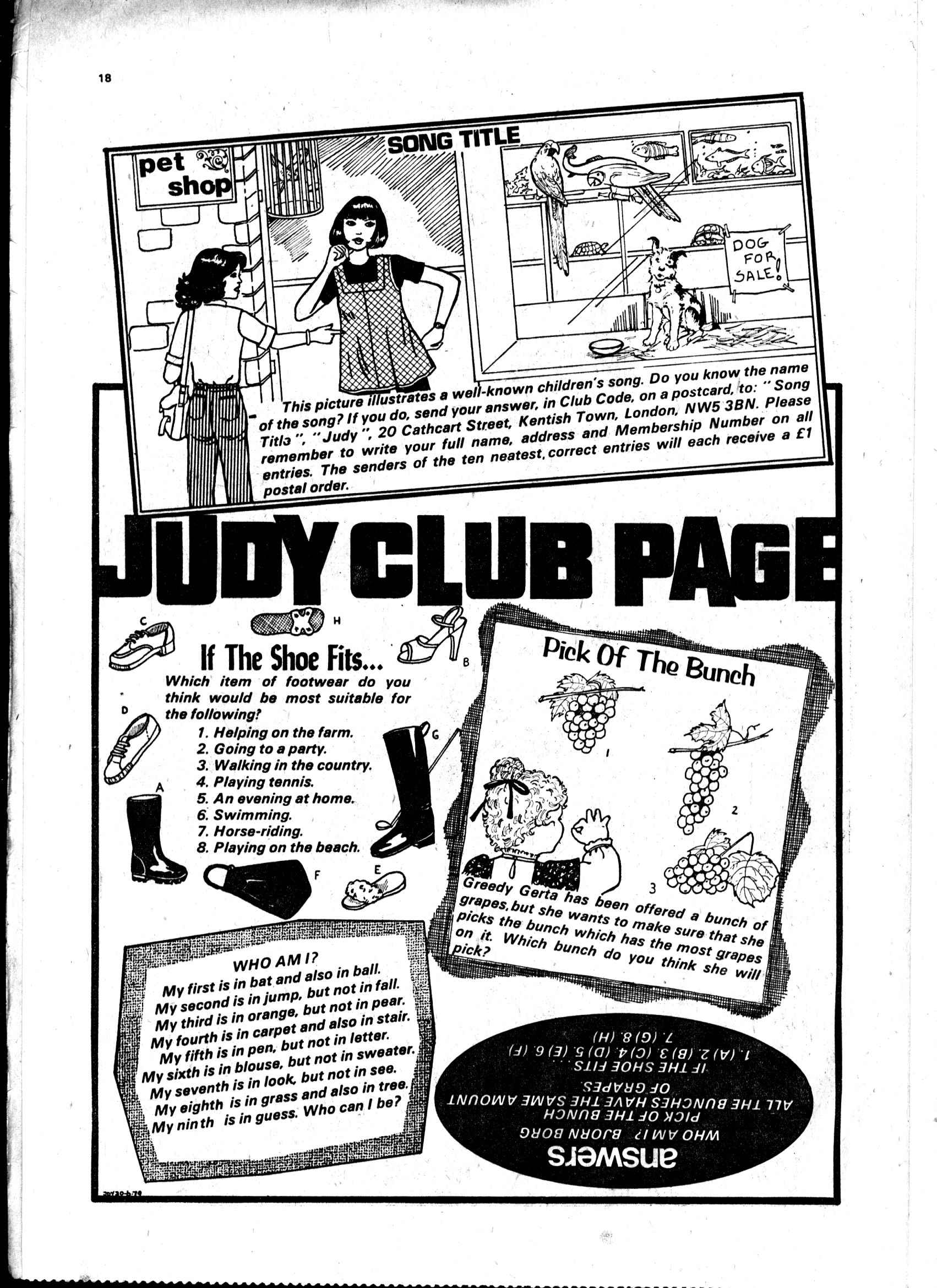Read online Judy comic -  Issue #16 - 18