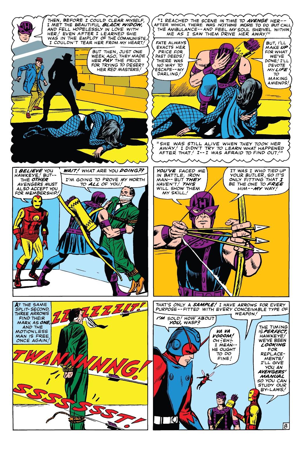 Read online Marvel Tales: Avengers comic -  Issue # Full - 13