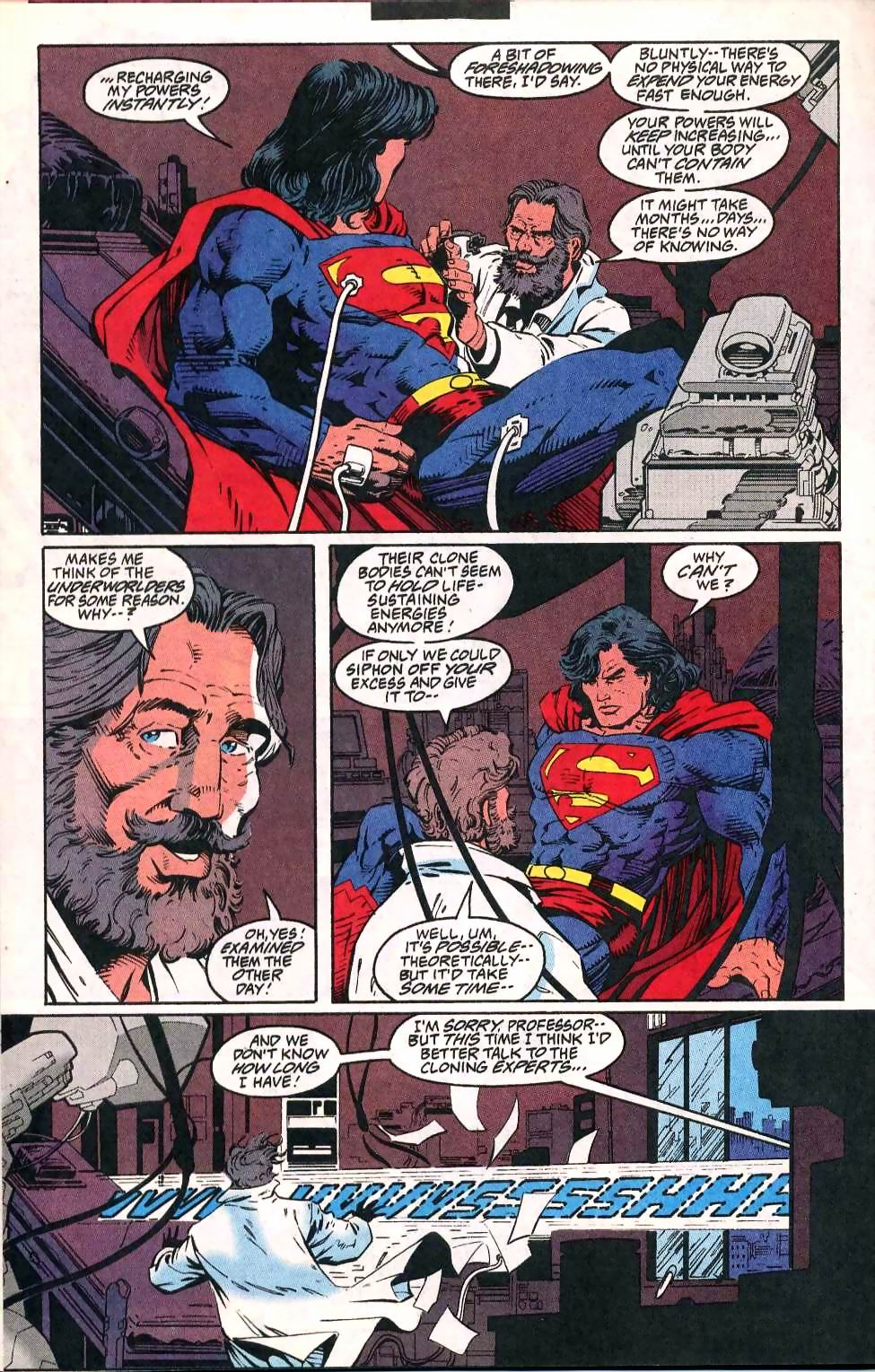 Read online Adventures of Superman (1987) comic -  Issue #511 - 17