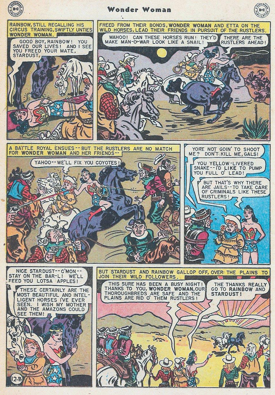 Read online Wonder Woman (1942) comic -  Issue #27 - 32