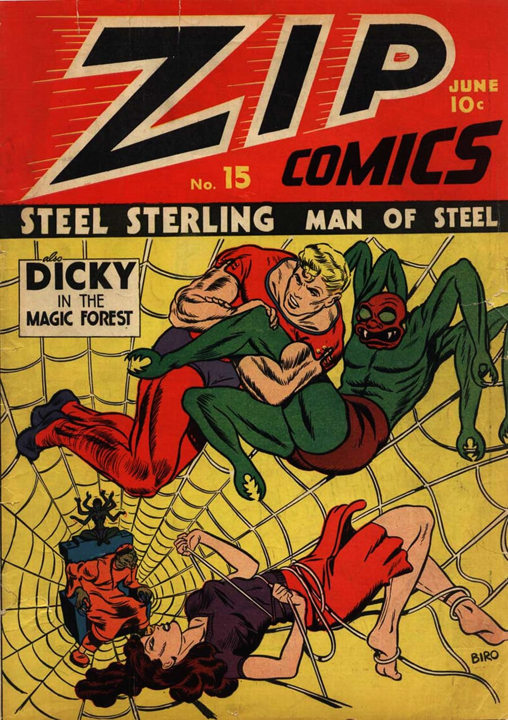 Zip Comics issue 15 - Page 1
