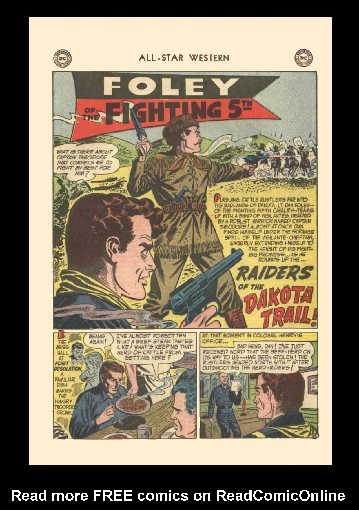 Read online All-Star Western (1951) comic -  Issue #72 - 19