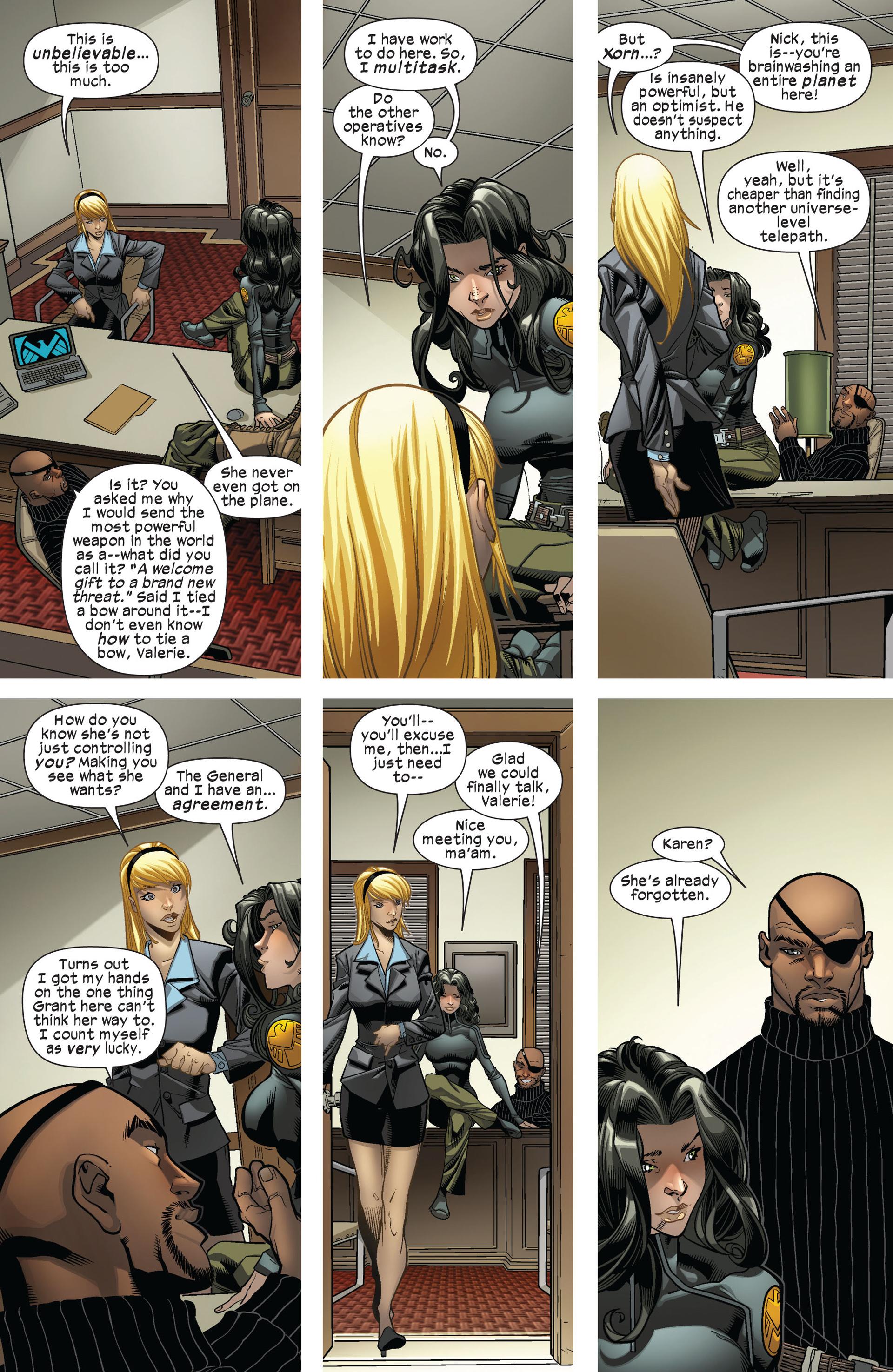 Read online Ultimate Comics X-Men comic -  Issue #8 - 17