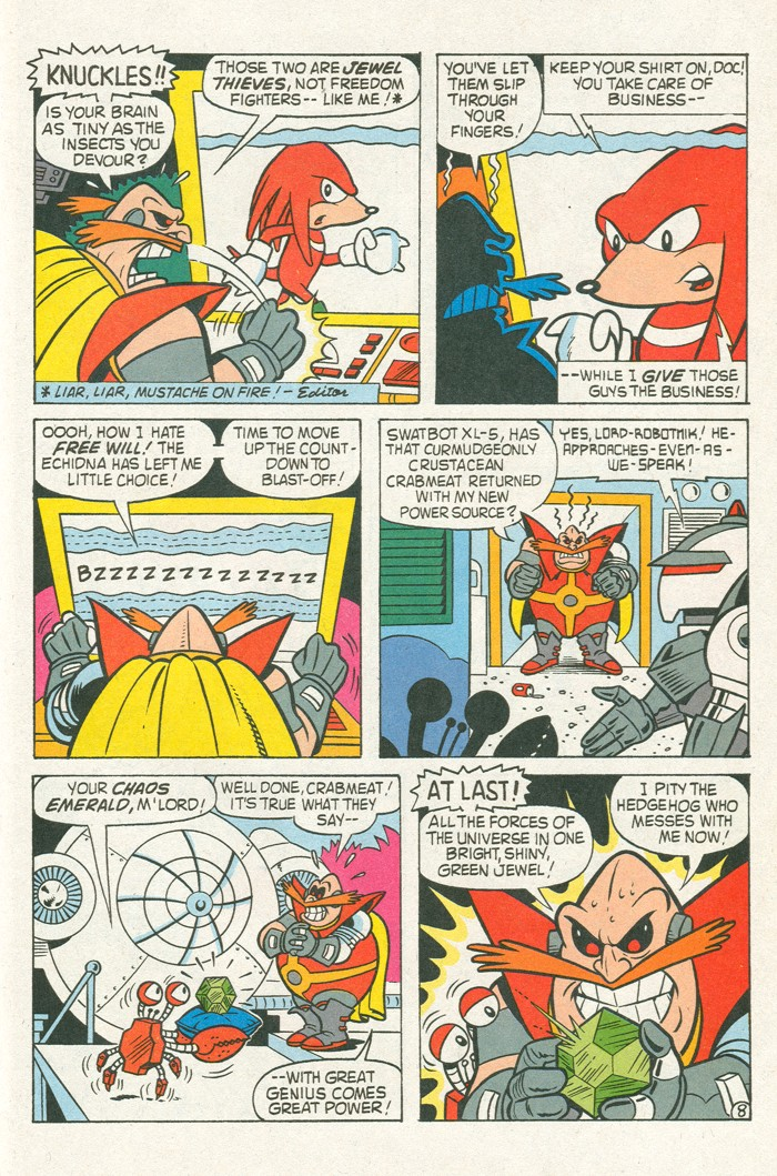 Read online Sonic Super Special comic -  Issue #3 - Sonic Firsts - 44