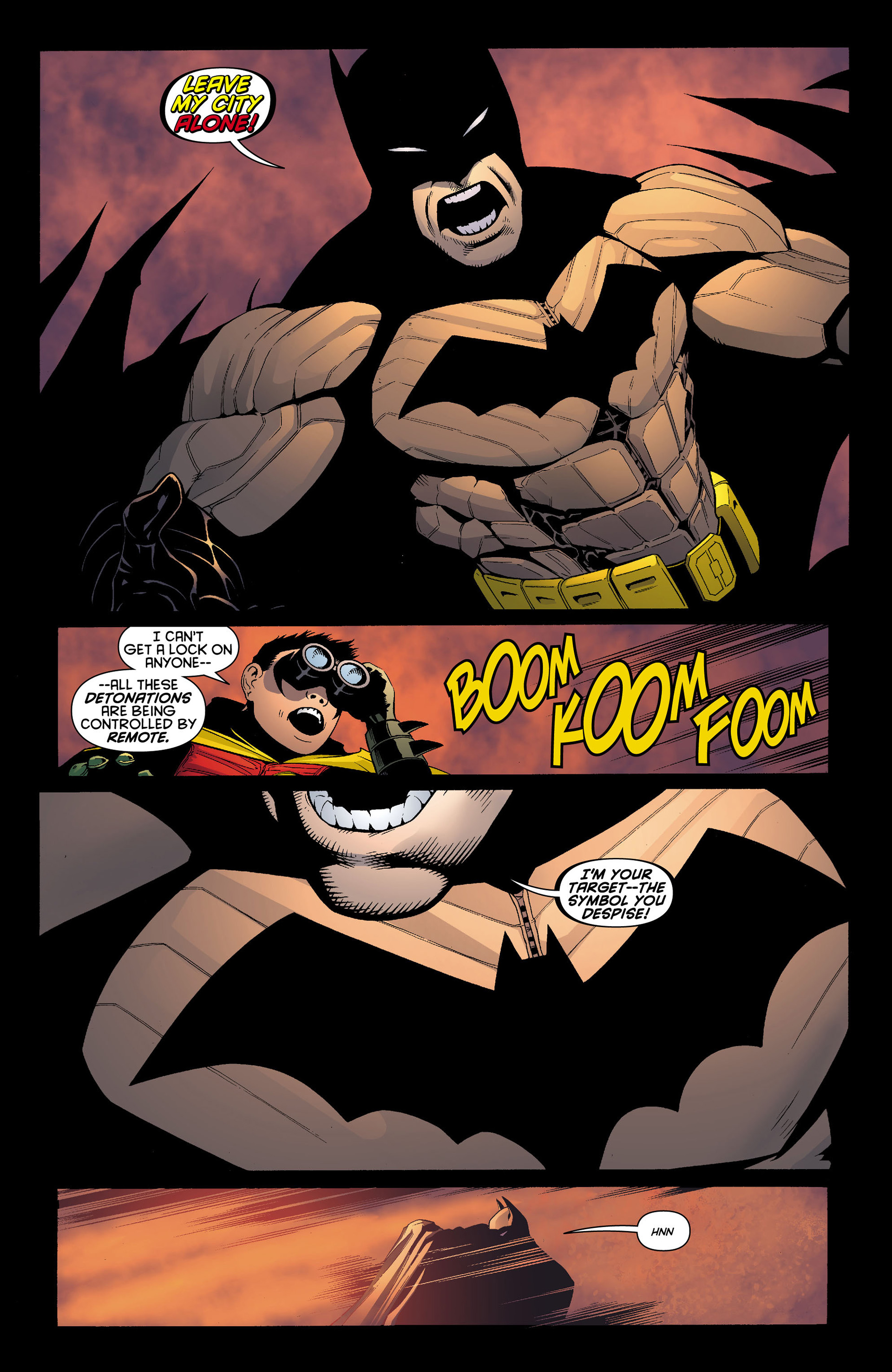 Read online Batman and Robin (2011) comic -  Issue #11 - 19