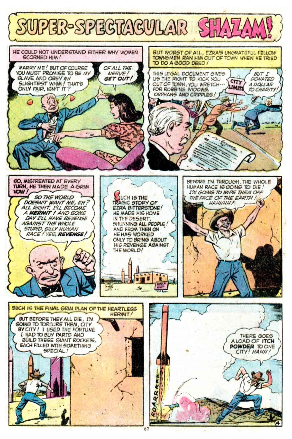 Read online Shazam! (1973) comic -  Issue #16 - 62