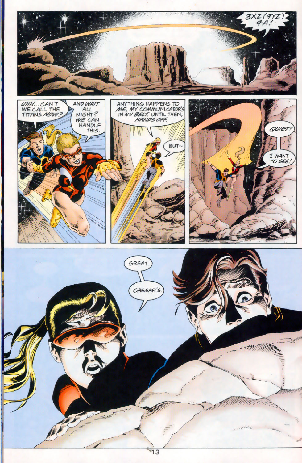 Read online The Titans (1999) comic -  Issue #45 - 14