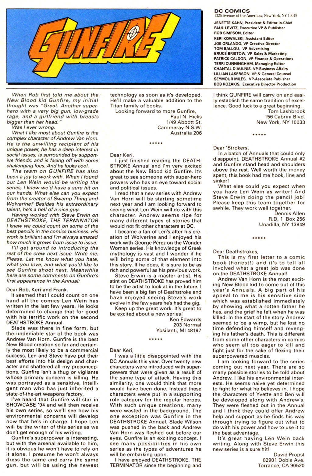 Read online Gunfire comic -  Issue #1 - 32
