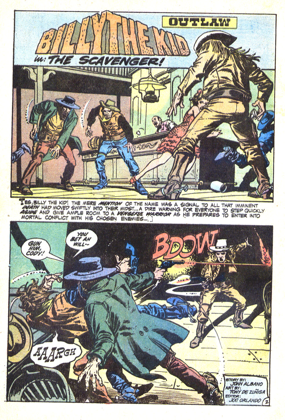 Read online All-Star Western (1970) comic -  Issue #8 - 4