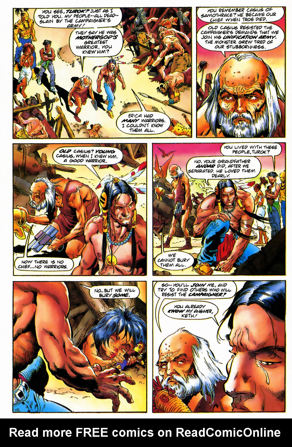 Read online Turok, Dinosaur Hunter (1993) comic -  Issue #25 - 13