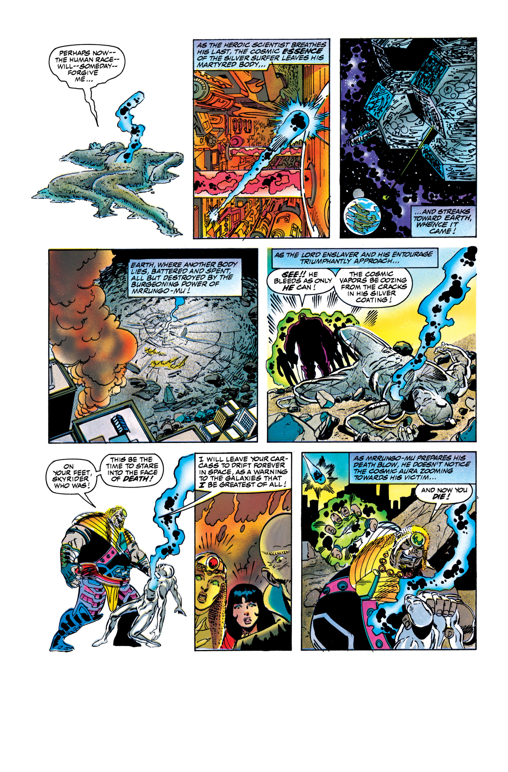 Read online Silver Surfer: Parable comic -  Issue # TPB - 121