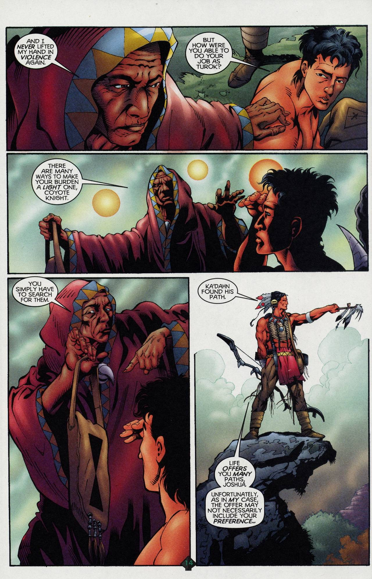 Read online Turok: Tales of the Lost Land comic -  Issue # Full - 12