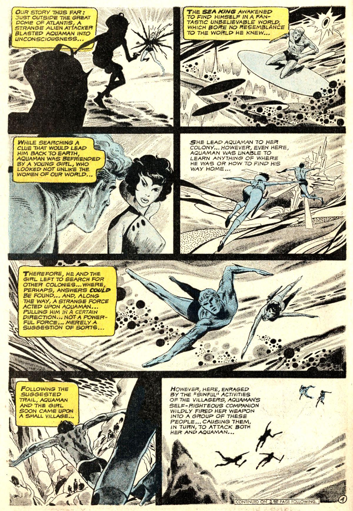Read online Aquaman (1962) comic -  Issue #52 - 6