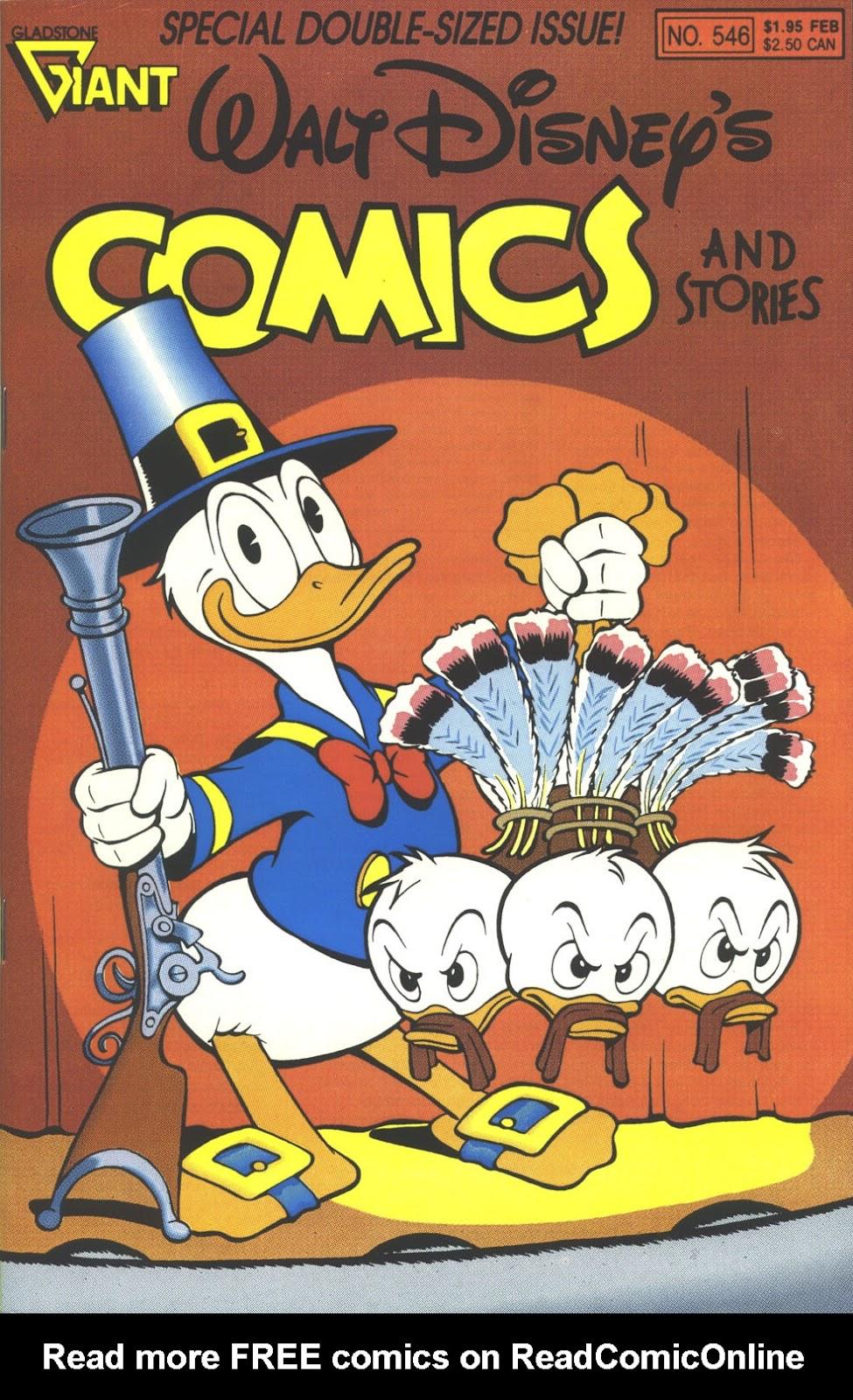 Walt Disneys Comics and Stories 546 Page 1