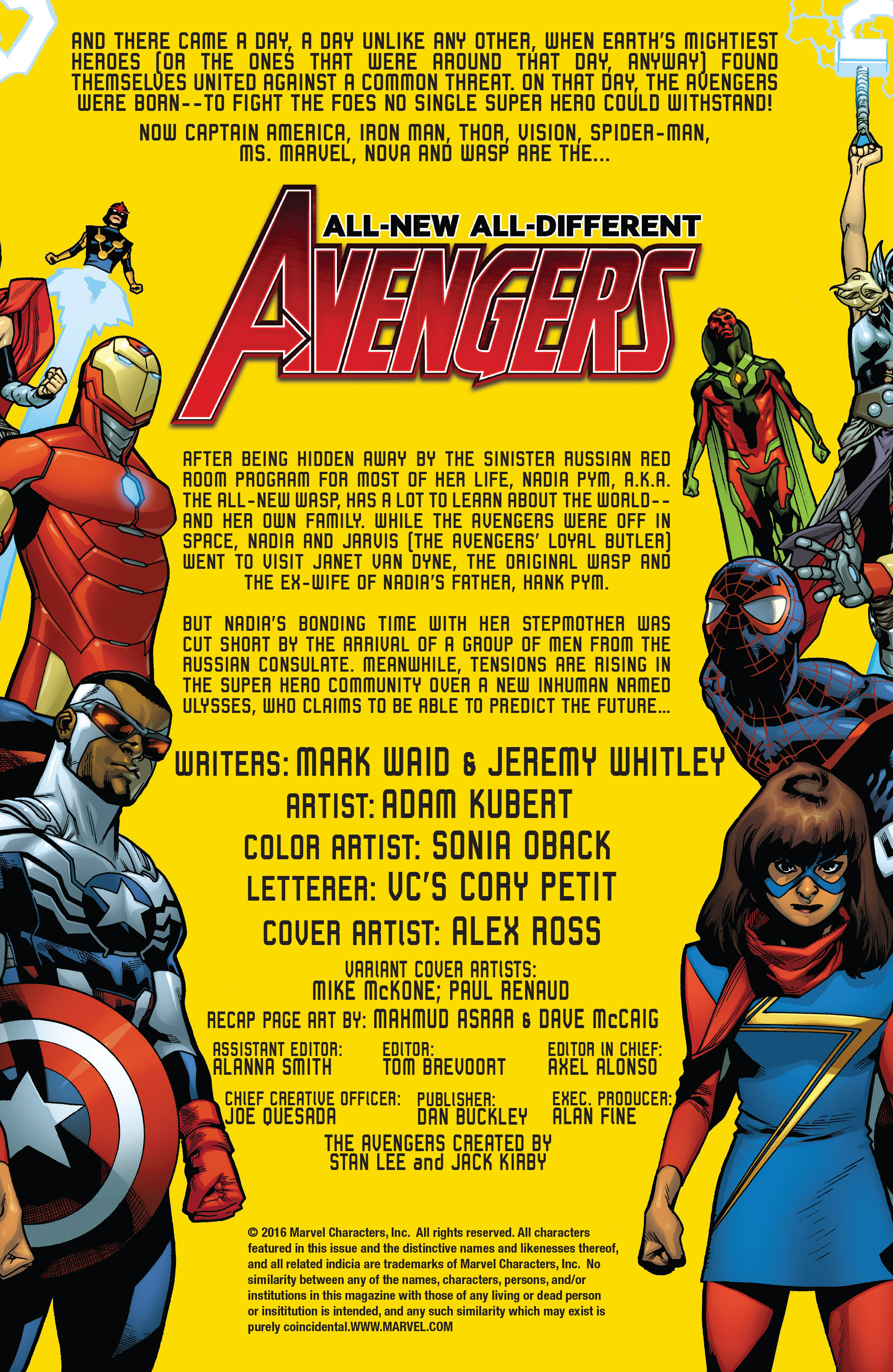 Read online All-New, All-Different Avengers comic -  Issue #14 - 2