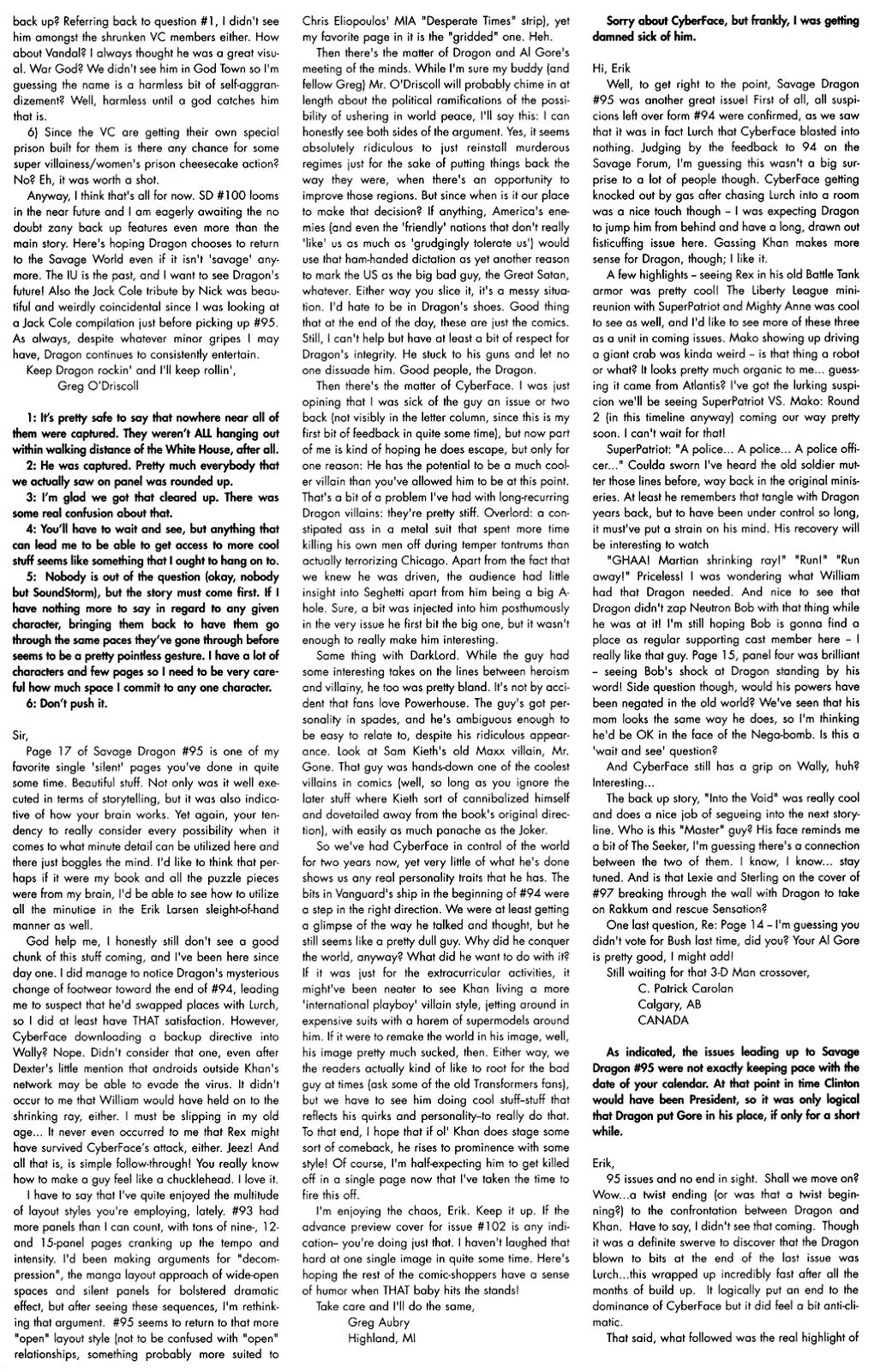 The Savage Dragon (1993) Issue #97 #100 - English 25