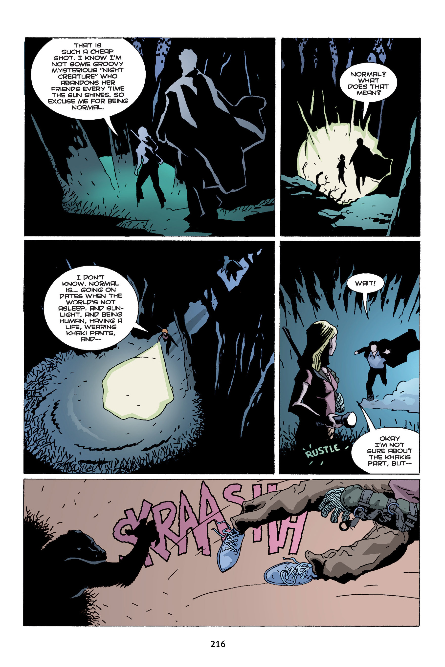 Read online Buffy the Vampire Slayer: Omnibus comic -  Issue # TPB 4 - 214