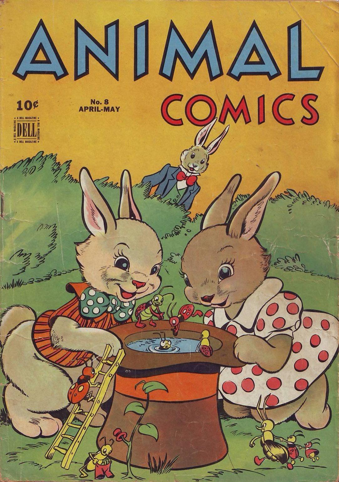 Animal Comics 8 Page 1