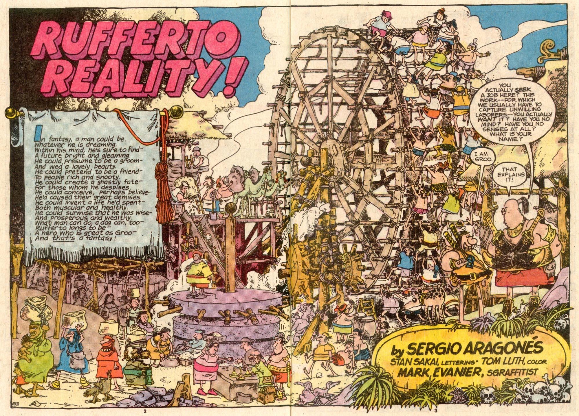 Read online Sergio Aragonés Groo the Wanderer comic -  Issue #45 - 3