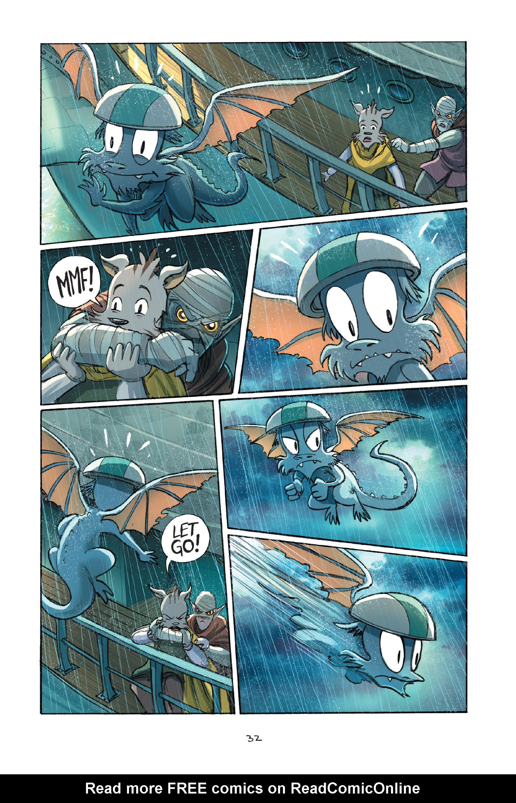 Read online Amulet comic -  Issue #7 - 35