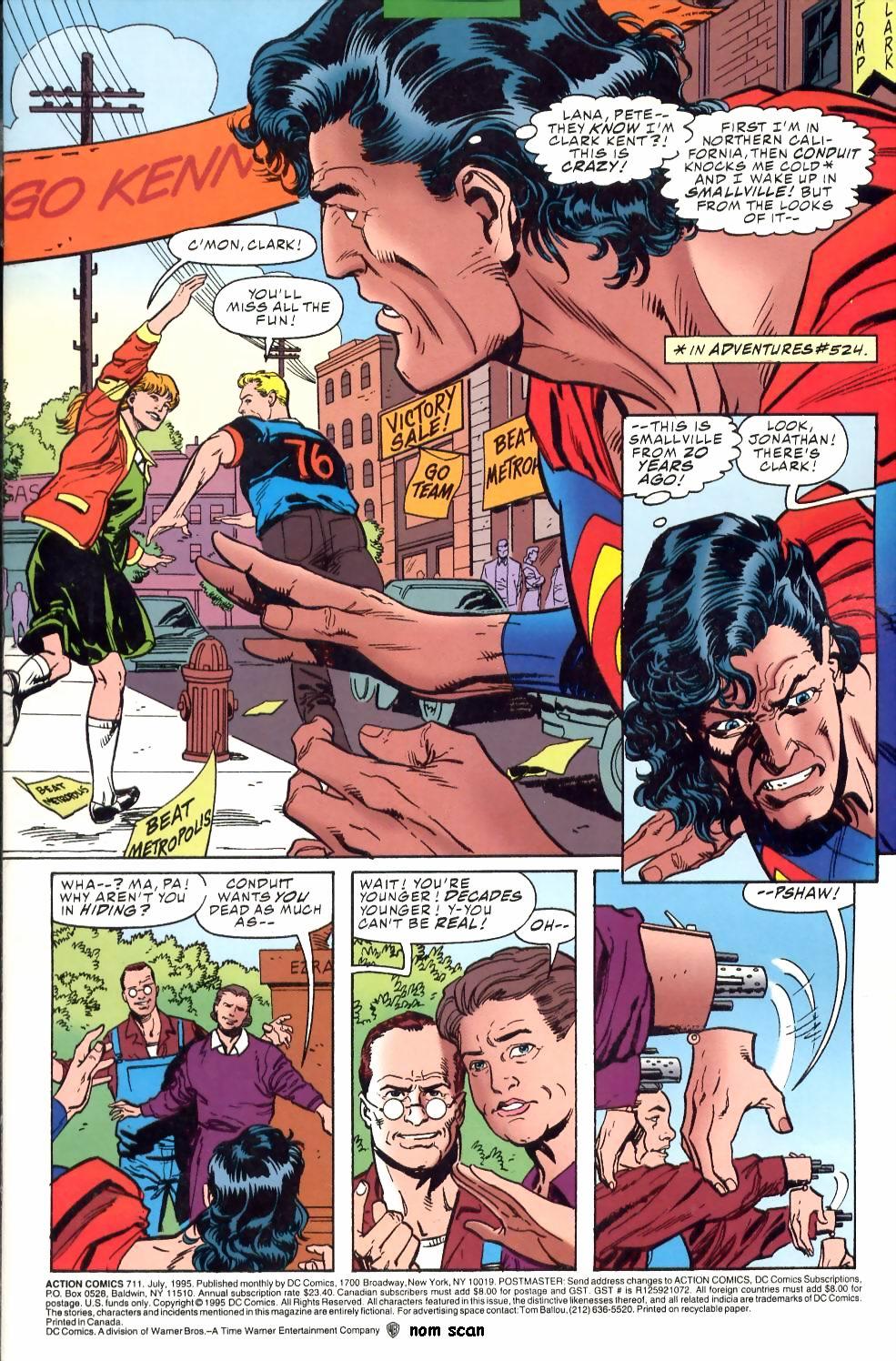Action Comics (1938) 711 Page 1