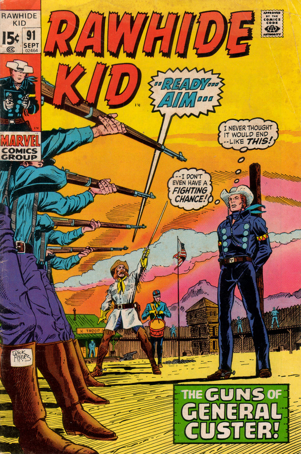The Rawhide Kid (1955) issue 91 - Page 1