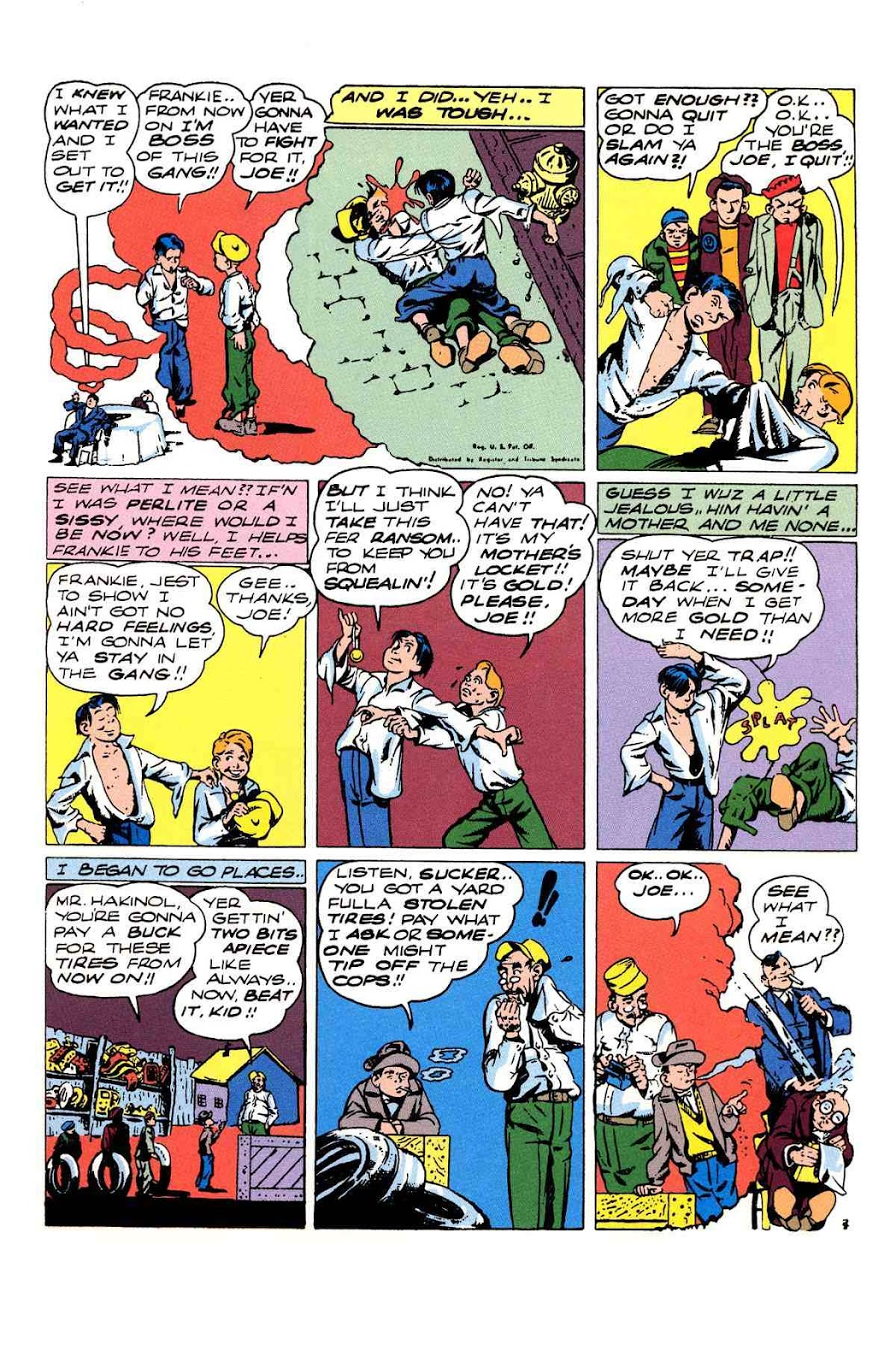 Read online Will Eisner's The Spirit Archives comic -  Issue # TPB 3 (Part 1) - 84