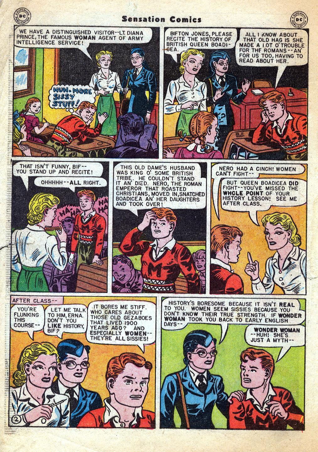 Read online Sensation (Mystery) Comics comic -  Issue #60 - 4