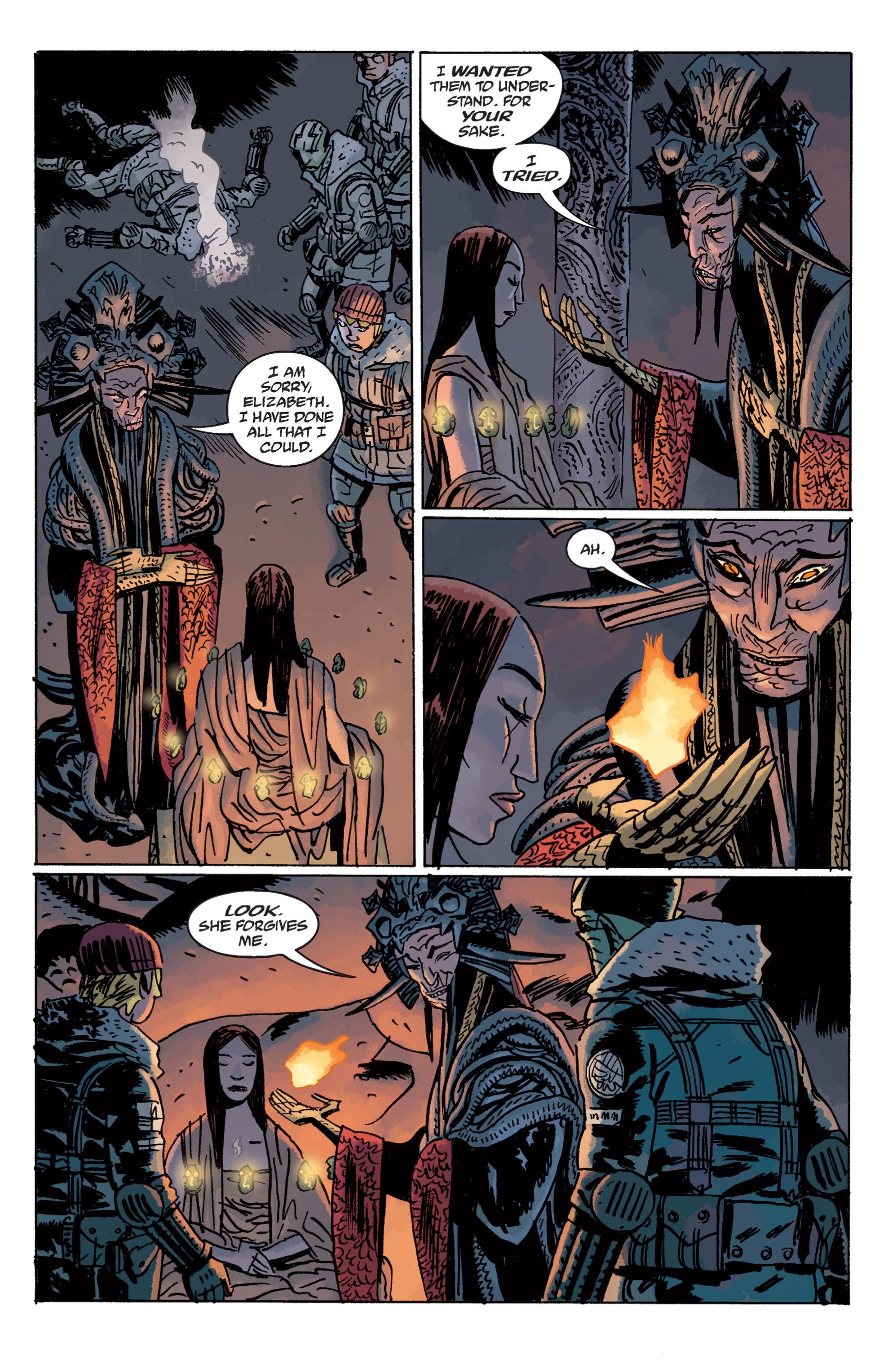 Read online B.P.R.D. (2003) comic -  Issue # TPB 11 - 116