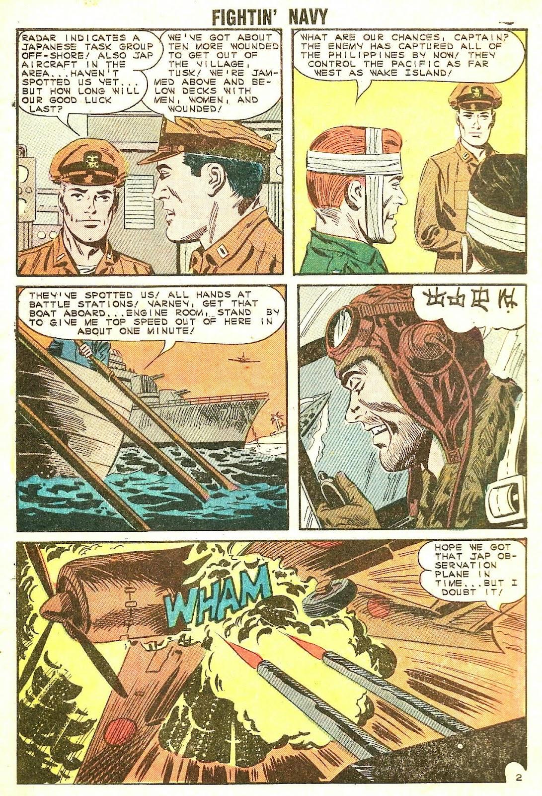 Read online Fightin' Navy comic -  Issue #114 - 4
