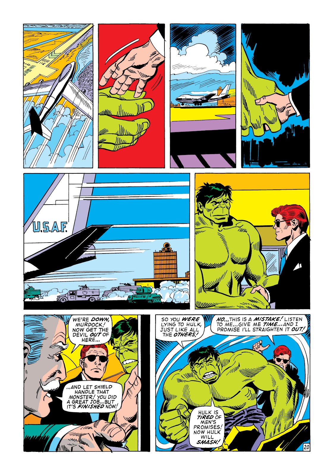 Read online Marvel Masterworks: The Incredible Hulk comic -  Issue # TPB 8 (Part 2) - 94