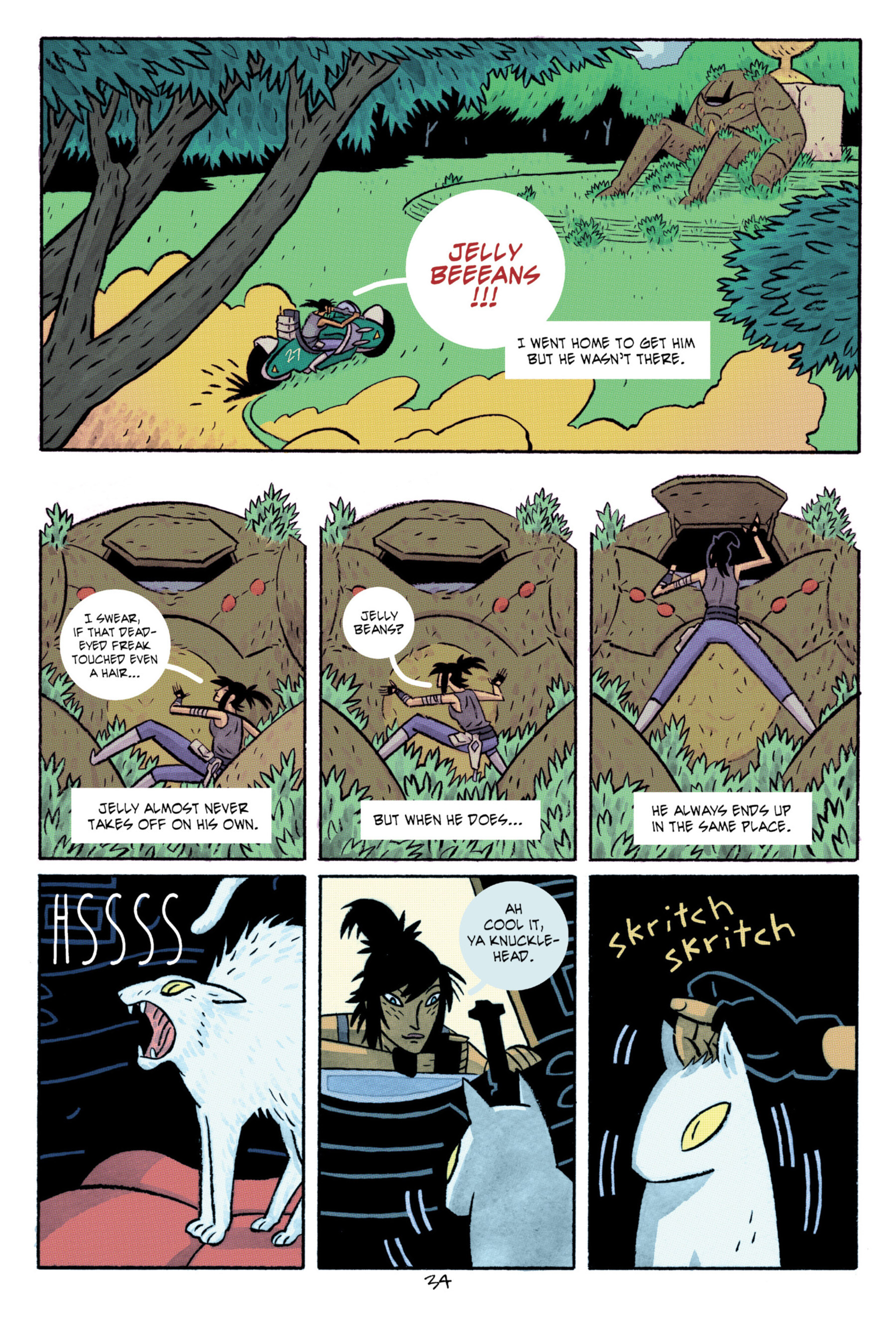 Read online ApocalyptiGirl: An Aria for the End Times comic -  Issue #ApocalyptiGirl: An Aria for the End Times Full - 42