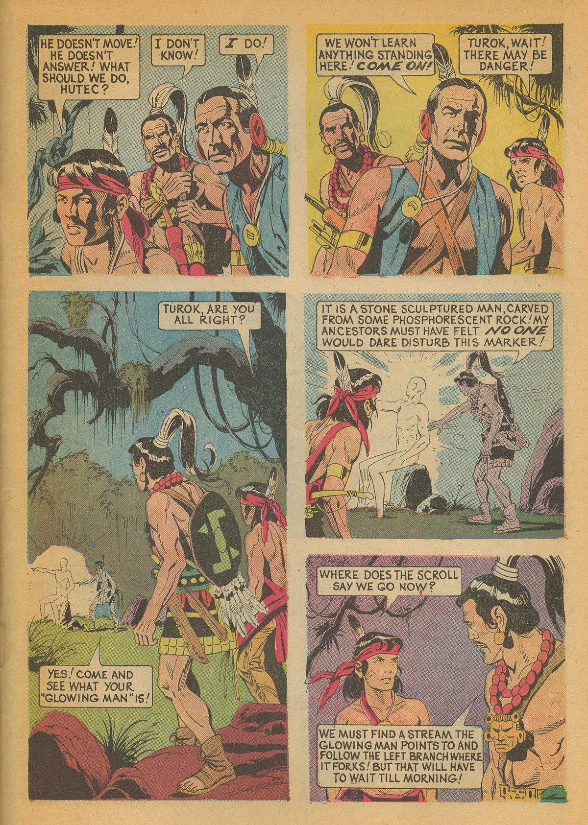 Read online Turok, Son of Stone comic -  Issue #85 - 27