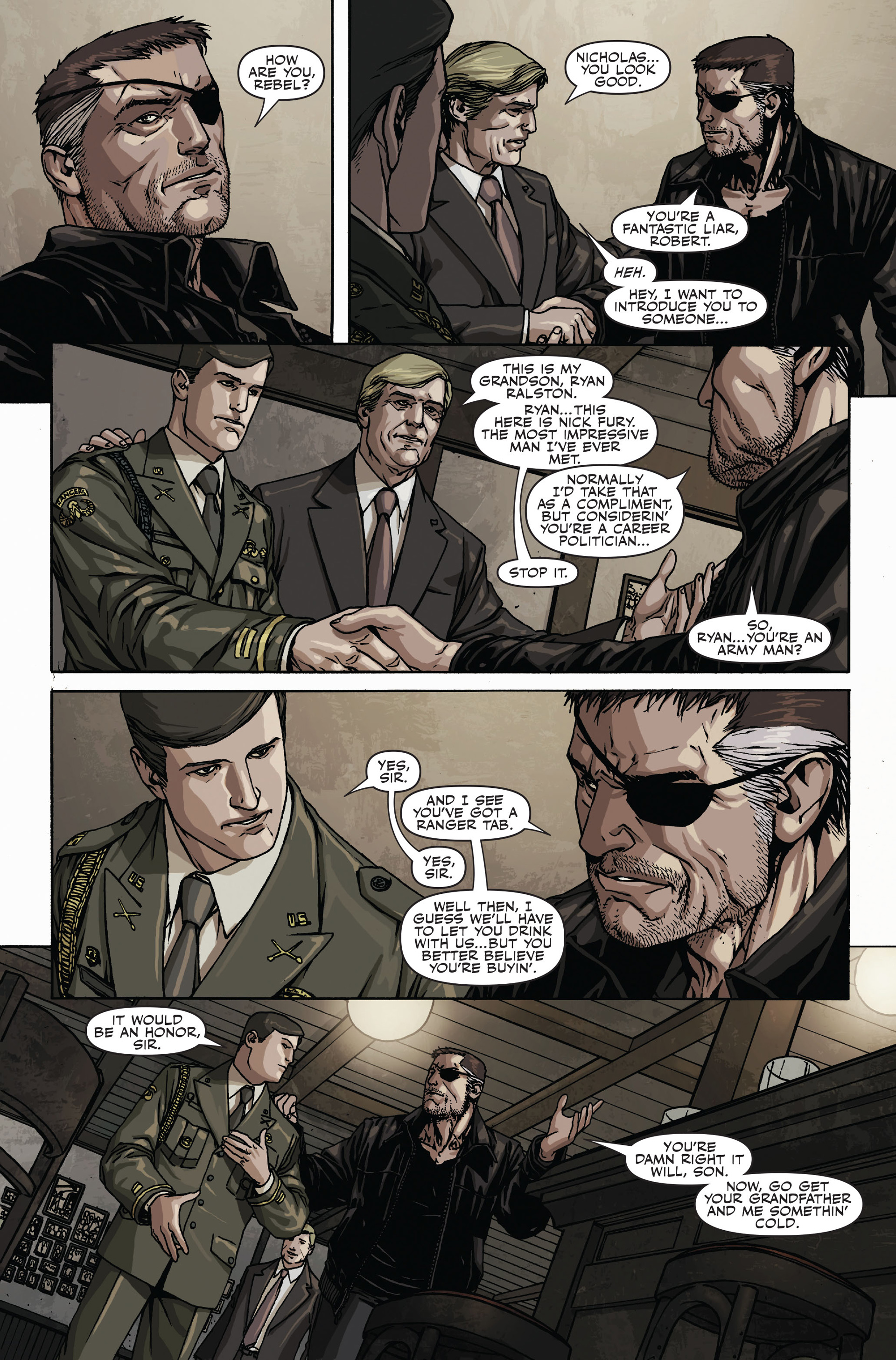 Read online Secret Warriors comic -  Issue #17 - 12