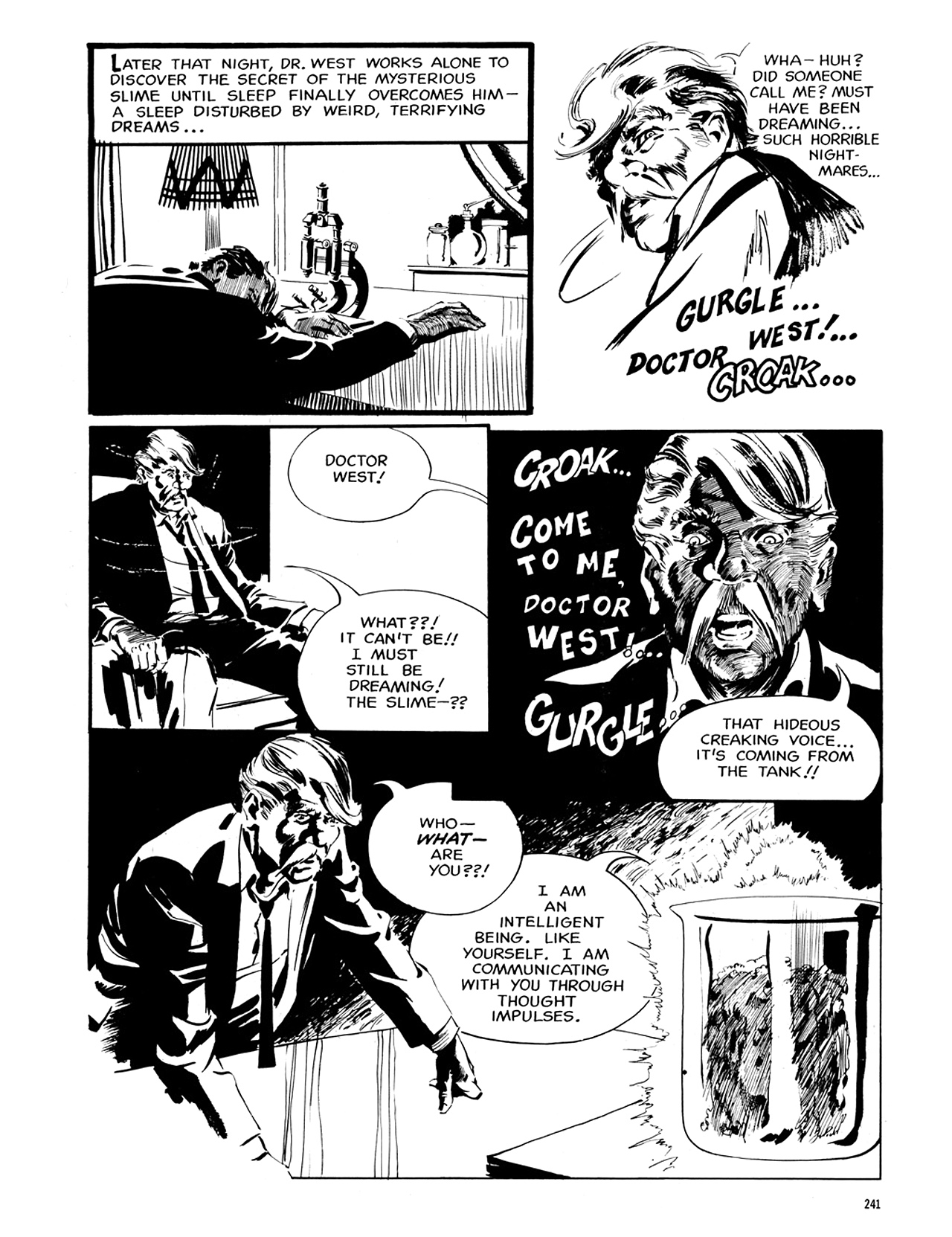 Read online Eerie Archives comic -  Issue # TPB 6 - 240