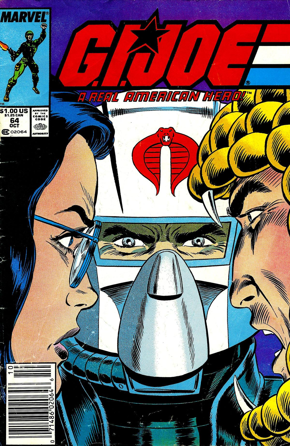 G.I. Joe: A Real American Hero 64 Page 1