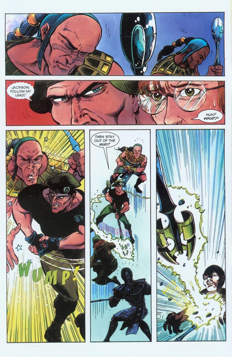 Read online Stargate comic -  Issue #3 - 4