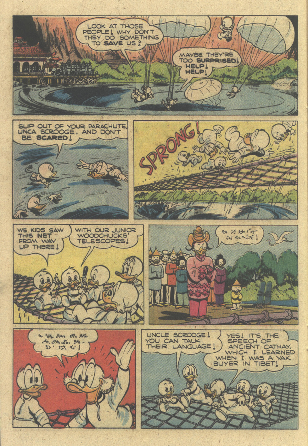 Read online Uncle Scrooge (1953) comic -  Issue #183 - 16