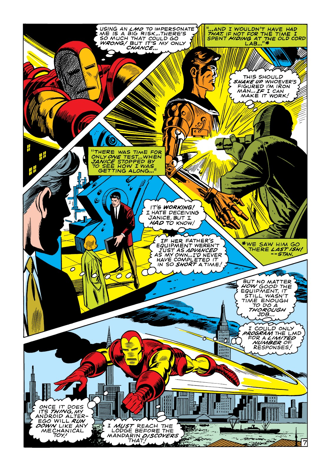 Read online Marvel Masterworks: The Invincible Iron Man comic -  Issue # TPB 5 (Part 3) - 3