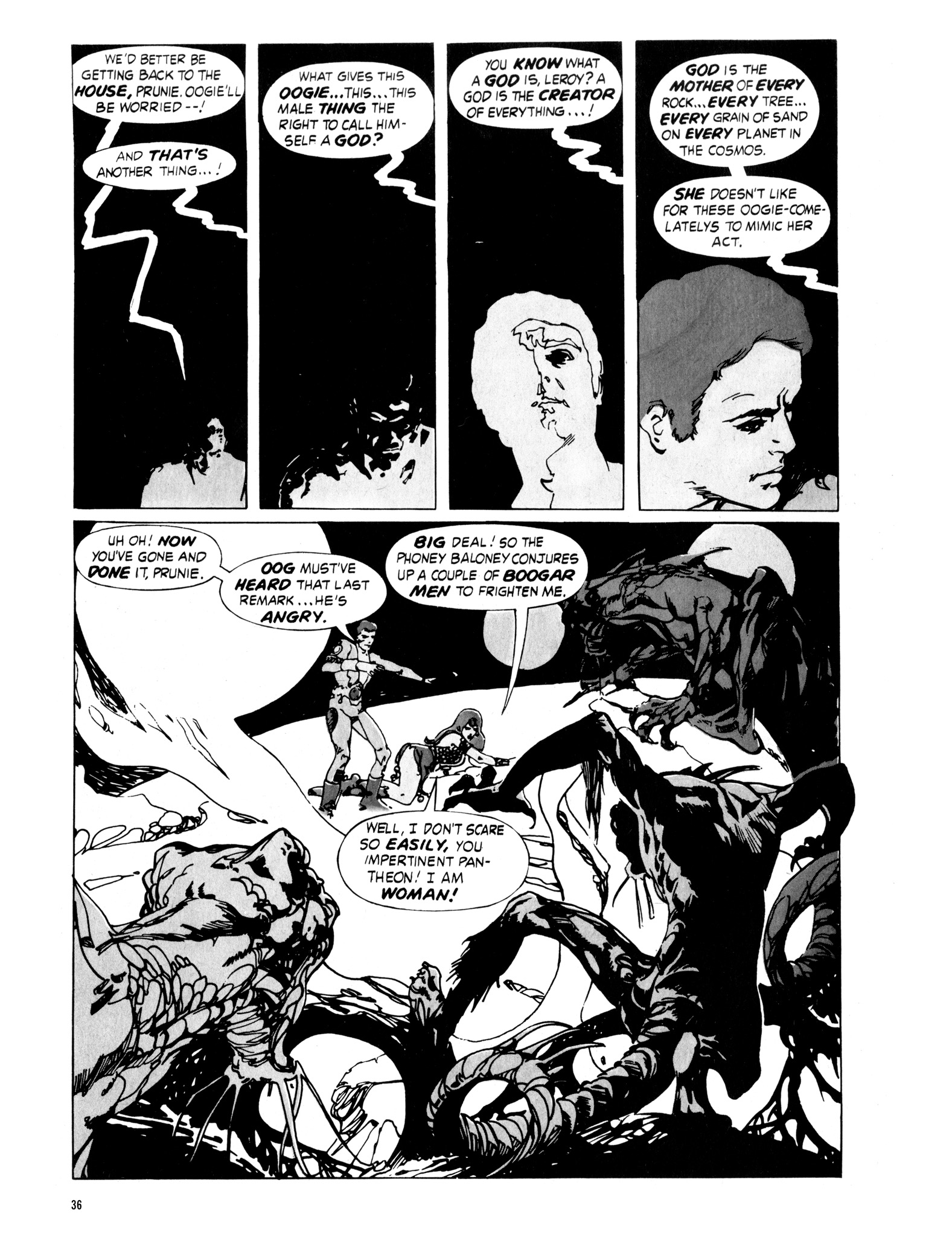 Read online Eerie Archives comic -  Issue # TPB 16 - 37