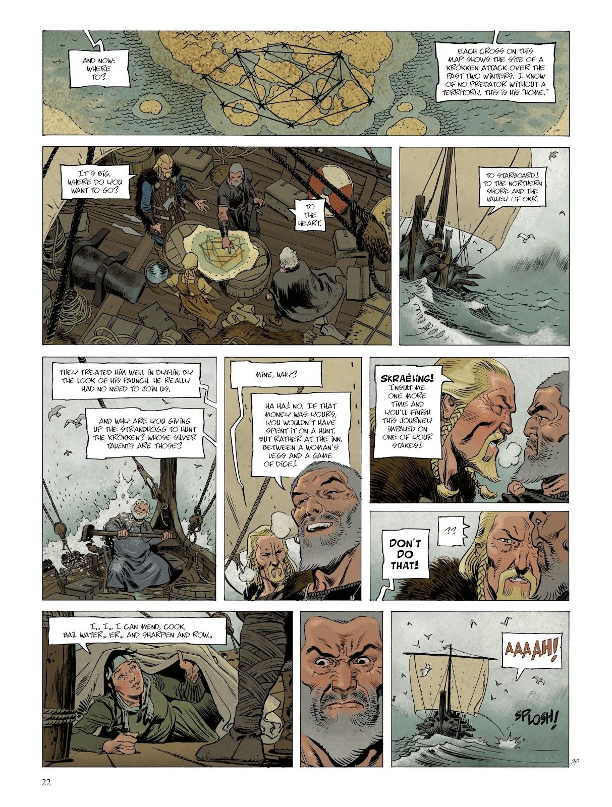 Read online Asgard comic -  Issue #1 - 24