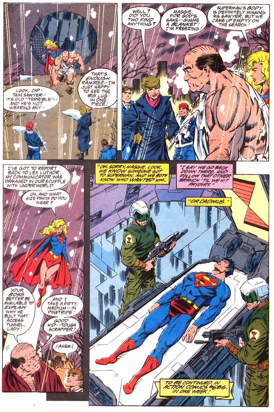 Read online Adventures of Superman (1987) comic -  Issue #499 - 23