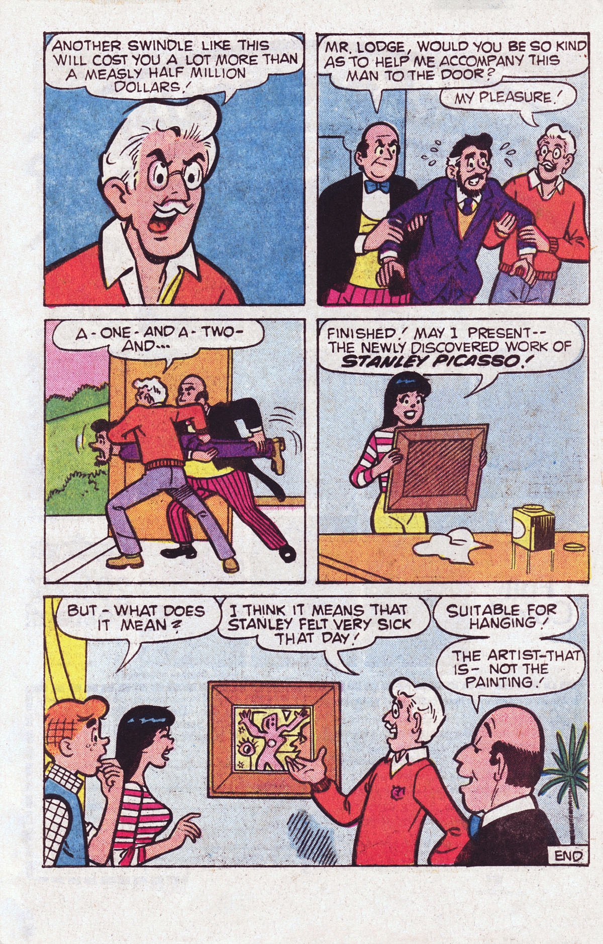 Read online Archie (1960) comic -  Issue #301 - 33
