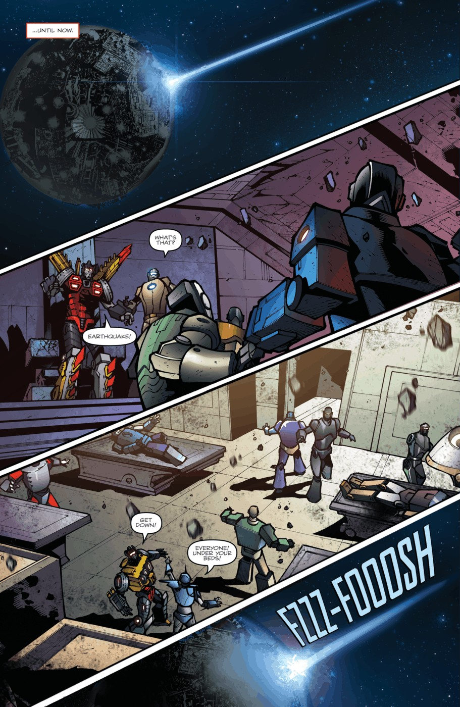 Read online Transformers Prime: Beast Hunters comic -  Issue #5 - 7