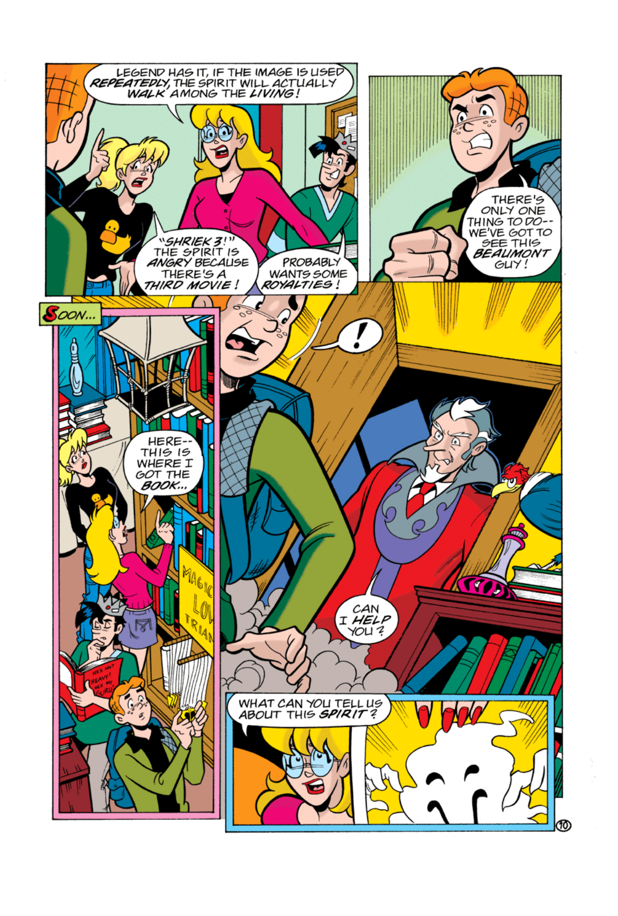 Read online Archie's Weird Mysteries comic -  Issue #2 - 10
